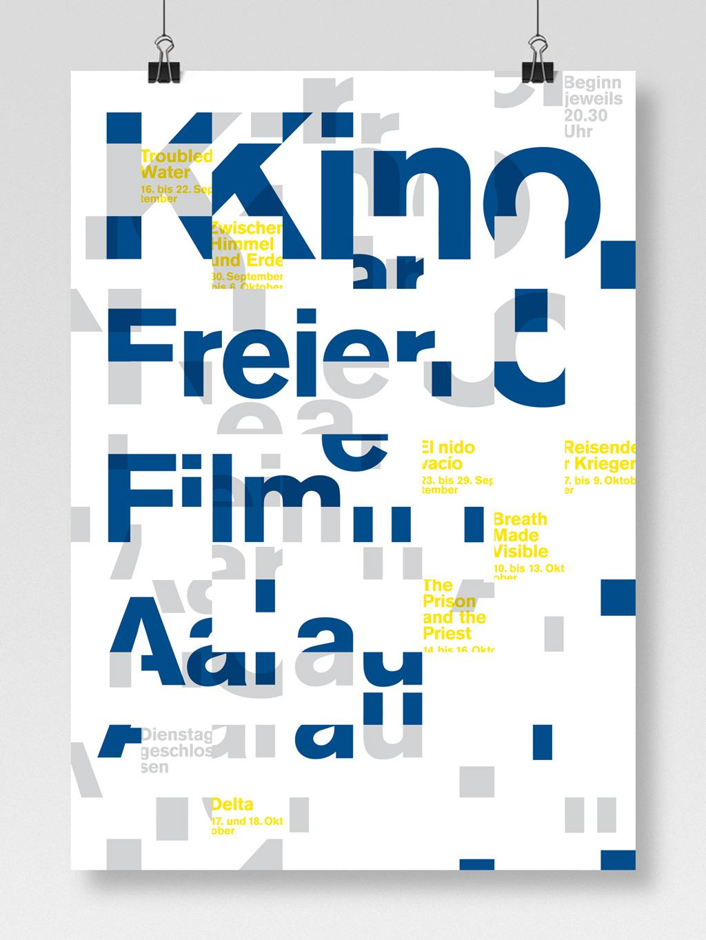 Kino Freier Film - a Portfolio